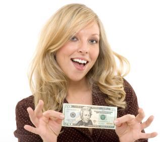 girl-and-twenty-dollar-bill